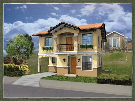 house design and layout in the philippines ruby dream home designs of lb lapuz architects builders