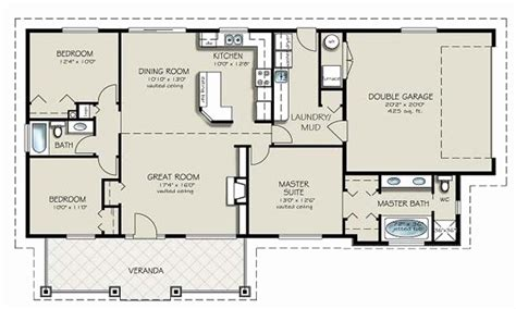 non open floor plans 4 bedroom house plans open floor plan awesome 4 bedroom