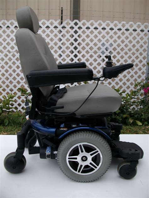 jazzy power chair used jazzy 600 used power chair blue used electric wheelchairs