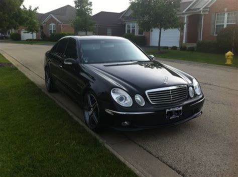 how things work cars 2005 mercedes benz g class lane departure warning find used 2005 mercedes benz amg e55 w211 black on black keyless go 19 quot wheels in chicago