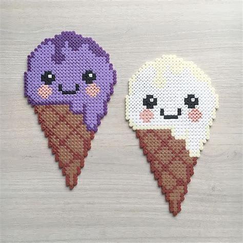 kawaii hama kawaii cones hama by elisabeth krogseter