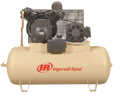 ingersoll rand  phase electrical horizontal tank