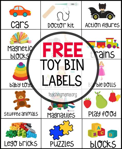 label templates for toy boxes free toy bin labels toy bin labels bin labels and toy bins