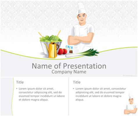 cook powerpoint template templateswise com