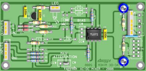 Layout Pcb Mixer Behringer | mixer 1u
