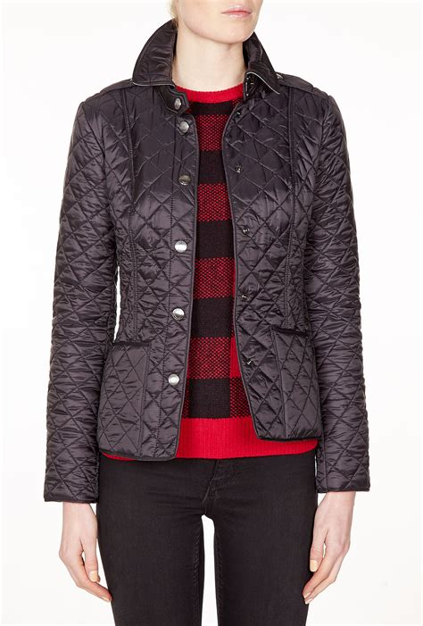 Burberry Brit Jacket Quilted by Burberry Brit Quilted Lightweight Jacket In Gray Ash Lyst
