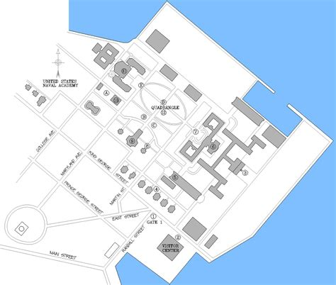 map us naval academy us naval academy map pictures to pin on pinsdaddy