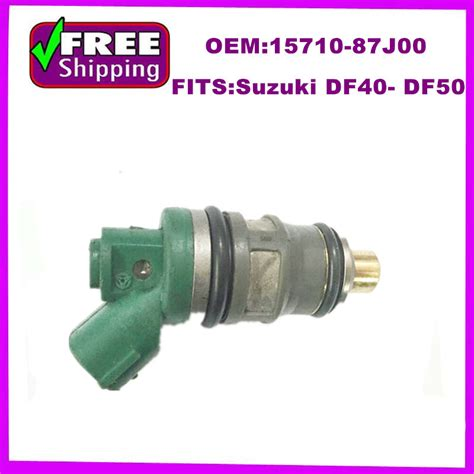 Nozzel Nosel Injektor Suzuki Apv oem 15710 87j00 1571087j00 genuine fuel injector nozzle for suzuki df40 df50 in fuel injector