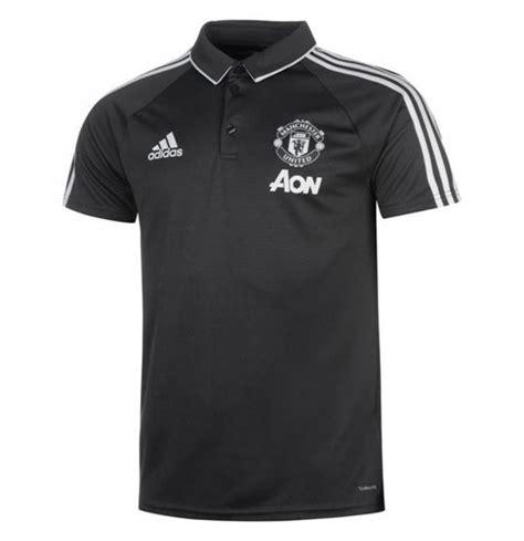 Polo Shirt Go Manchester United Abu 2017 2018 2017 2018 utd adidas polo shirt grey for only 163 28 73 at merchandisingplaza uk