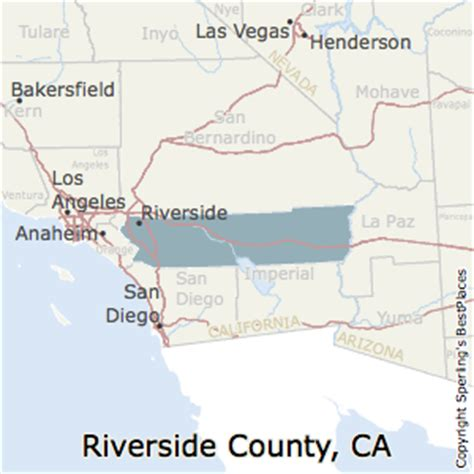 california map riverside county best places to live in riverside county california