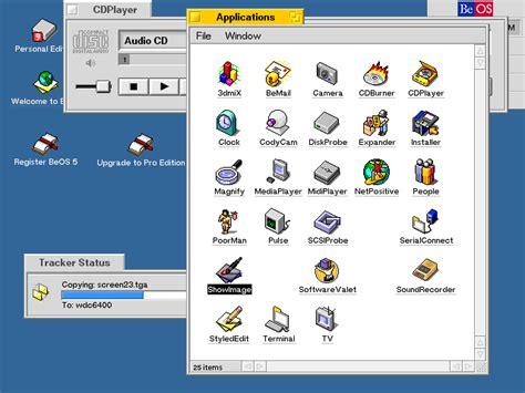 Afresh user interface mac vs beos low end mac