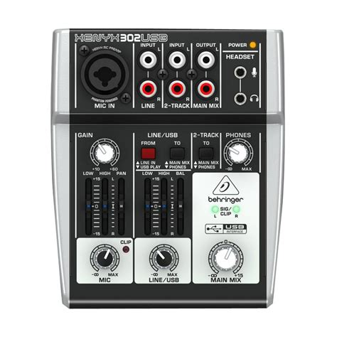 Daftar Mixer Behringer jual behringer xenyx 302usb mixer audio harga