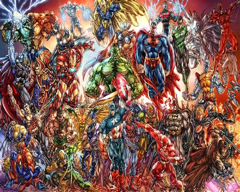 marvel vs dc wallpaper by artifypics on deviantart marvel and dc wallpaper wallpapersafari