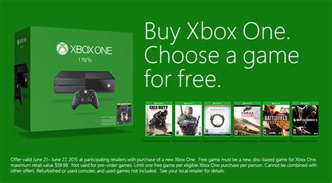 Xbox One S 1tb New Free Fullgames Bisa Pilih microsoft xbox one buyers can take home free on purchase of new console including batman