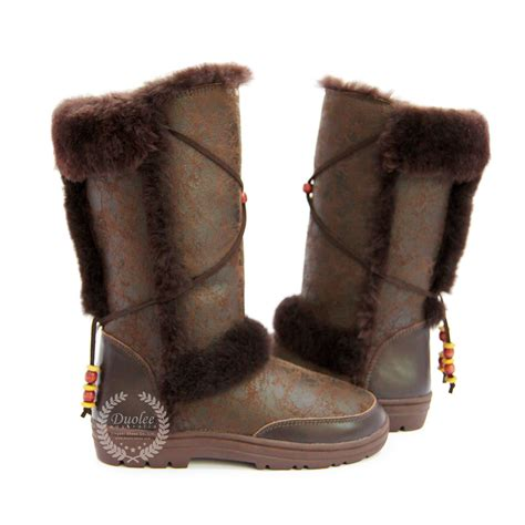 china genuine leather boots sheepskin boots china