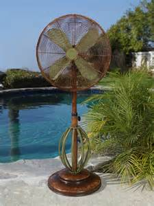 dbf0622 playa outdoor patio fan floor standing outdoor