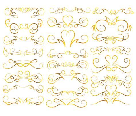 gold wedding clipart gold border clip 43