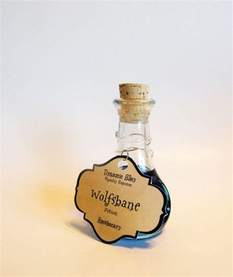 wolfsbane potion apothecary harry potter inspired