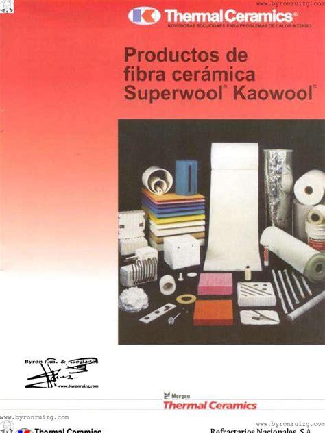 thermal ceramics superwool productos de fibra ceramica superwool kaowool