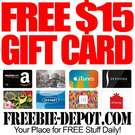 Sephora 15 Gift Card - free 15 gift card of your choice when you spend 20 at sephora free amazon gift