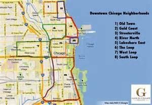Neighborhood Map Chicago by Chicago Neighborhoods Map