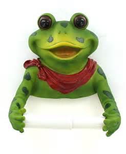 toilet paper holder for bathroom frog bathroom frog decorations