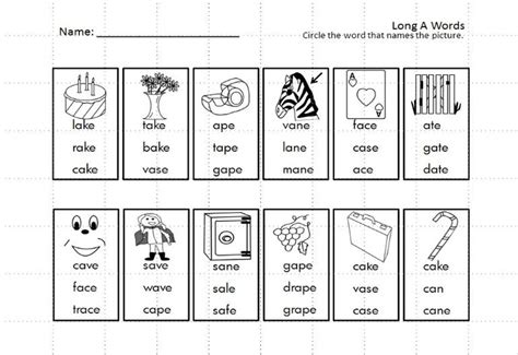 Magic E Worksheets Free Printable by Kindergarten Vowels Silent E Write And Read Common