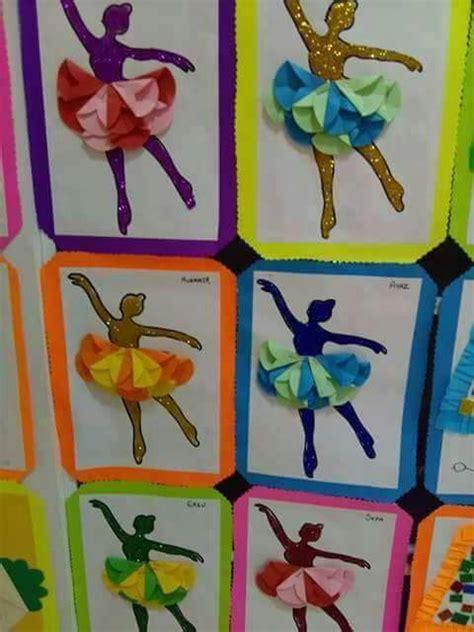 Paper Folding Activity For Kindergarten - folding paper ballerina craft 171 funnycrafts