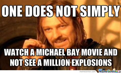 Michael Bay Meme - michael bay by brianstewie meme center