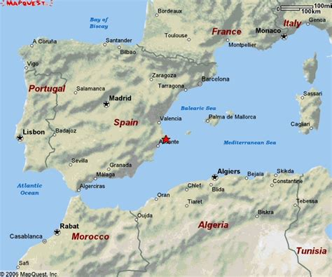 calpe spain map driving directions to villa in calpe