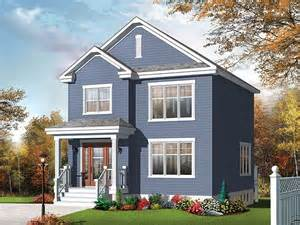 2 story small house plans small home plans small two story house plan fits a narrow lot 027h 0334 at thehouseplanshop