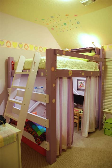 girls loft bed with customer photo gallery pictures of op loftbeds from our