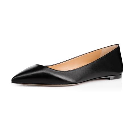 comfortable pointed toe flats women s black school shoes pointed toe comfortable flats