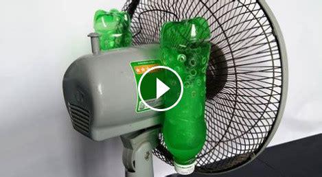 Kipas Angin Dingin Kayak Ac cara membuat ac sederhana dari kipas dan botol bekas