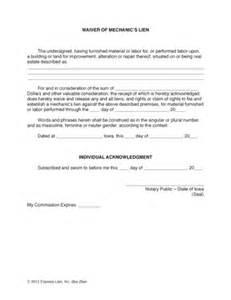 Bill Of Sale With Lien Template by Bill Of Sale Form Pennsylvania Mechanics Lien Release Form