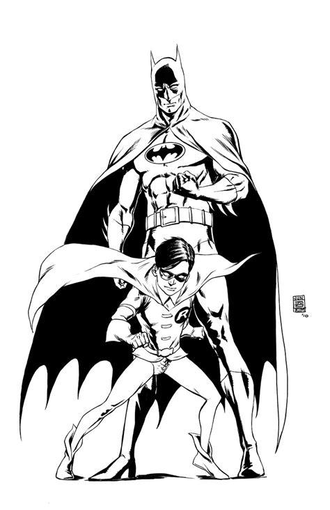 classic batman coloring pages classic batman robin 171 jun bob kim draws comic art