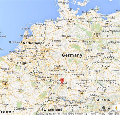stuttgart on map stuttgart on map of germany