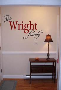 custom name wall decor personalized family name wall vinyl decal sticker