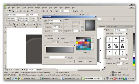 tutorial corel draw x4 membuat spanduk membuat desain spanduk dengan coreldraw kumpulan tutorial