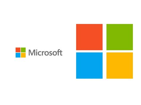 Microsoft Logo Backgrounds Blue Green Orange Technology White Yellow Templates Free Ppt Ppt Templates Microsoft