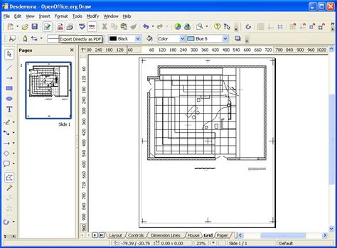 Openoffice Draw Floor Plan | openoffice draw floor plan meze blog