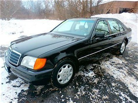 auto body repair training 1992 mercedes benz 600sel electronic throttle control buy used 1992 mercedes benz v 12 600 sel low reserve l k in mchenry illinois united