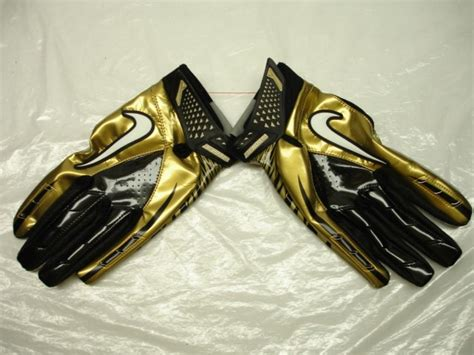Five Sf 1 Gloves Whitegold white and gold white and gold nike football gloves