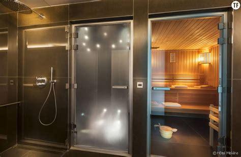 Sauna, hammam, espace détente, l'hôtel Molière à tout pour