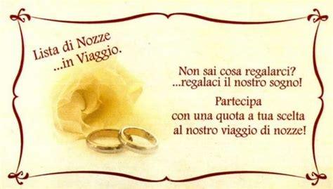 testo si viaggiare lista nozze viaggio iban sposi di miele forum
