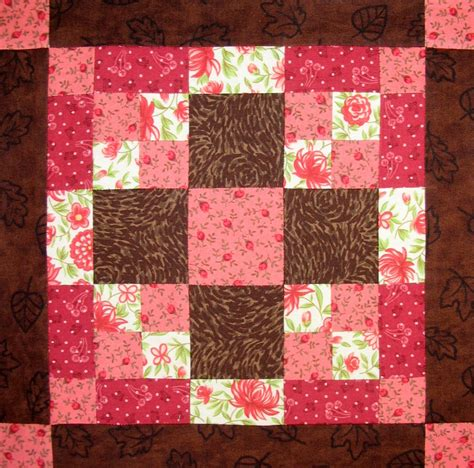 Easy Quilt Patterns For Beginners by Starwood Quilter Chocolate Lover Quilt Block