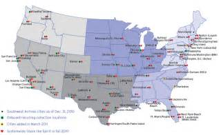 southwest airlines route map www pixshark images