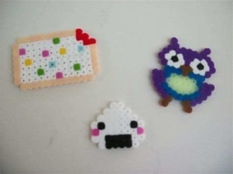 what to do with perler bead creations kawaii perler bead creations 183 a pegboard bead magnet
