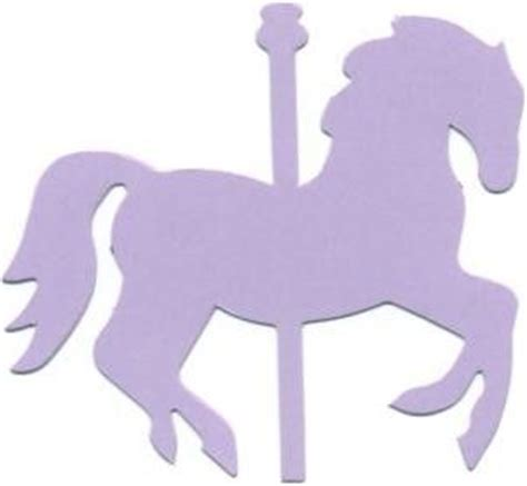 carousel horse cutout google search parties mary