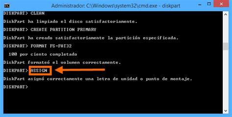 diskpart format usb fat32 m 233 todo para reparar una memoria usb usando diskpart